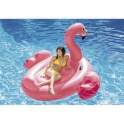 Ile Flamand Rose Gonflable De 218x211x136 Cm | Piscineshorssolweb