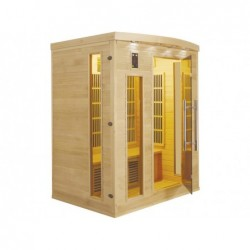 Sauna Infrarouge Apollon De 3 Places 2070w