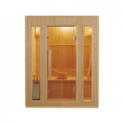 Sauna Traditionnel Zen De 3 Places 3500 W