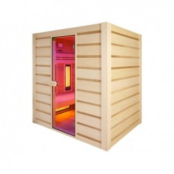 Sauna Hybrid Infrarouges Et Traditionnel 190 Cm | Piscineshorssolweb