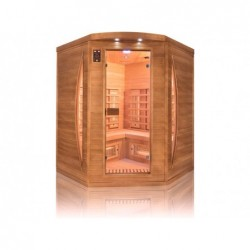 Sauna Infrarouges Spectra Angular De 3 Places 200 Cm