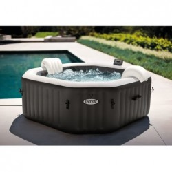 Spa Gonflable 201x71 Cm. Purespa Jet And Bubble Deluxe Intex 28458   Piscineshorssolweb