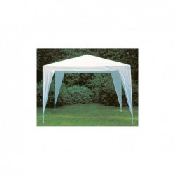Tonnelle Couleur Blanc De 300x300 Cm   Piscineshorssolweb