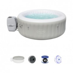 Spa Gonflable de 180x66 cm. Tahiti Air Jet Lay-Z-Spa Bestway 60007 | Piscineshorssolweb