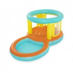 Plongeoir avec Piscine de Jeu de 239x142x102 cm. Jumptopía Bestway 52385