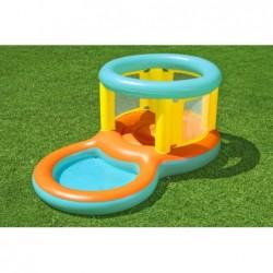 Plongeoir avec Piscine de Jeu de 239x142x102 cm. Jumptopía Bestway 52385   Piscineshorssolweb