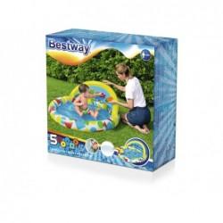 Piscine Gonflable Pour Enfants de 120x117x46 cm. avec des Jouets Bestway 52378 | Piscineshorssolweb