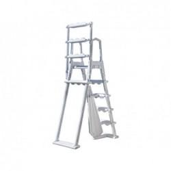 Escalera para Piscina Elevada de 120-132 cm Gre L4PL | PiscinasDesmontable