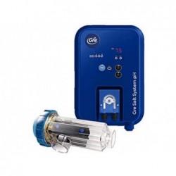Chlorinateur Salin Électrolyse Jusqu'à 60.000L ppour Piscines Gre SCGPHP60