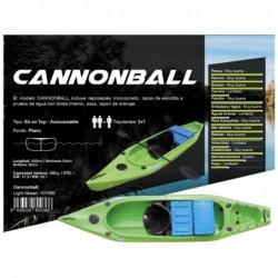 Kayak Cannonbal de la marque Kohala 400x84x36cm, de Ociotrends KY400   Piscineshorssolweb