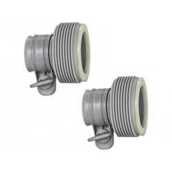 Adaptateurs B Raccordements de 32 mm pour 38 mm Intex 29061