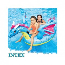 Dragon Gonflable de 201x191 cm Ride On Intex 57563 | Piscineshorssolweb