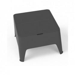 Mobilier de Jardin Table d'Appoint Modèle Alaska Anthracite SP Berner 55392