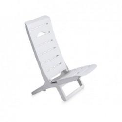 Mobilier de Jardin Chaise Modèle Parsy Blanca SP Berner 55077