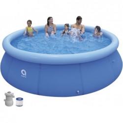 Jilong 17794EU 360x76 cm Promt Pool Set avec système de filtrage 1136 L.