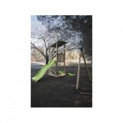 Parc enfant Talaia L avec Balançoire Double de Masgames MA700127   Piscineshorssolweb