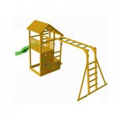 Parc enfant Teide avec échelle de Singe et Balançoire Individuelle de Masgames MA700105