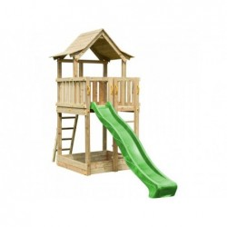 Parc enfant Pagoda XL avec Balançoire Individuelle de Masgames MA802611