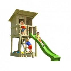 Parc enfant Beach Hut XL avec Balançoire Individuelle de Masgames MA802311