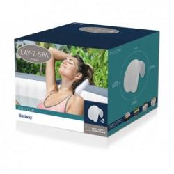 Kit Lay-Z-Spa Deux oreillers pour Spa Bestway 60307 | Piscineshorssolweb