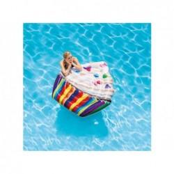 Matelas Gonflable Cupcake Intex 142x135 Cm. 58770   Piscineshorssolweb
