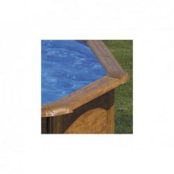 Piscine Ovale Gre Imitation Bois Sicilia. 350 X 120 Cm  | Piscineshorssolweb