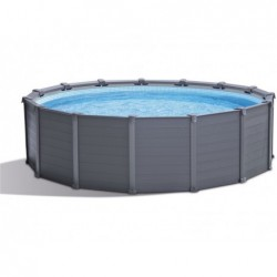 Piscine Hors Sol Intex 26384np Graphite Gray Panel 478x124 Cm