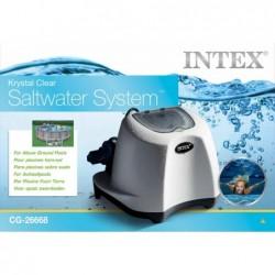 Chlorinateur Salin Intex 26668 De 5 Gr Heure Pour Piscines | Piscineshorssolweb