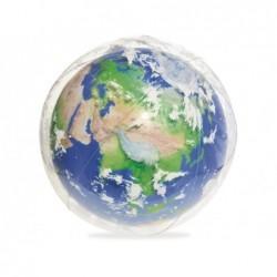 Ballon Gonflable De 61 Cm Globe Terrestre Avec Lumière Led Bestway