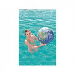 Ballon Gonflable De 61 Cm Globe Terrestre Avec Lumière Led Bestway | Piscineshorssolweb