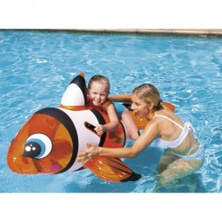Poisson Clown Gonflable De 157x94 Cm | Piscineshorssolweb