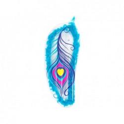 Matelas Gonflable 189x79 Cm. Bleu Avec Plumes Bestway 43241