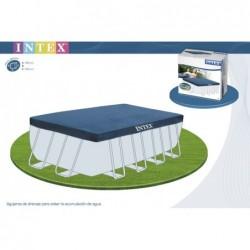 Bâche De Protection Intex 28039 460 X 226 Cm | Piscineshorssolweb