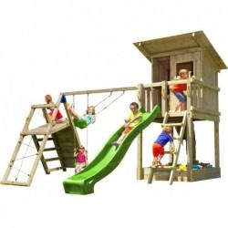Aire De Jeux Avec Challenger Beach Hut Xl Masgames Ma822301