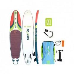 Planche De Surf Gonflable Coasto Air Surf 8 Poolstar Pb-Cairs8a De 244x57 Cm | Piscineshorssolweb